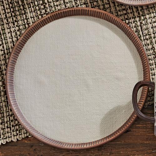 Timberland Moose & Bear Ceramic Dinner Plate
