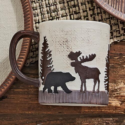 Timberland Moose & Bear Ceramic Mug