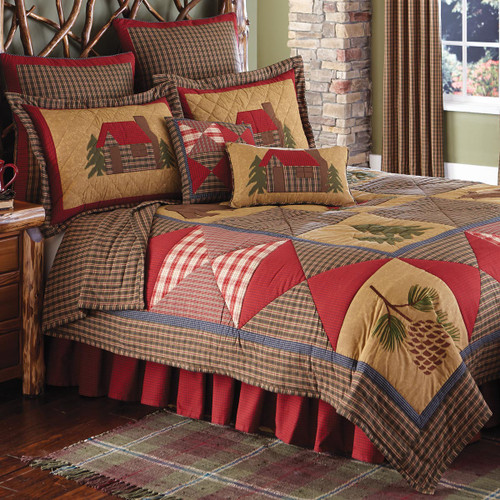 Cozy Cabin Quilt Bedding Collection