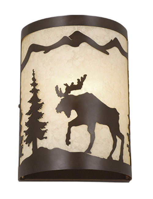 Timberland Wall Sconce - BACKORDERED UNTIL 12/02/2021