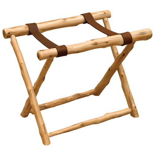 Traditional Cedar Luggage Rack