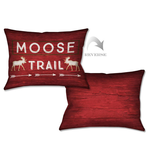 Trail Sign Pillow