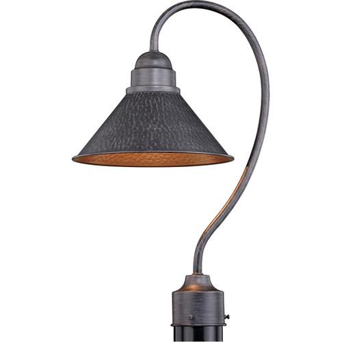 Trailhead Outdoor Post Light - Aged Iron