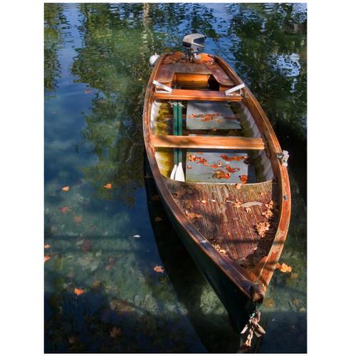 Tranquil Canoe Canvas Art