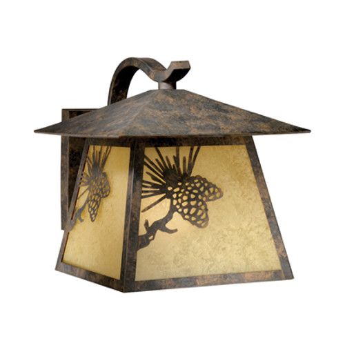Pinecone Cabin Outdoor Wall Lamp