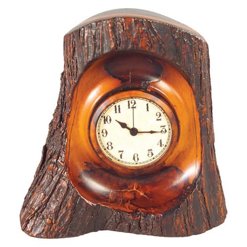 Tree Bark Clock