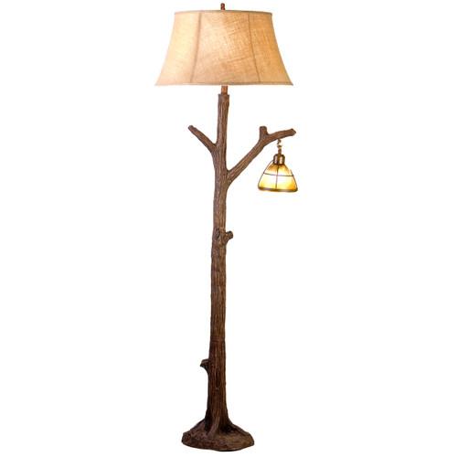Tree Floor Lamp with Nightlight