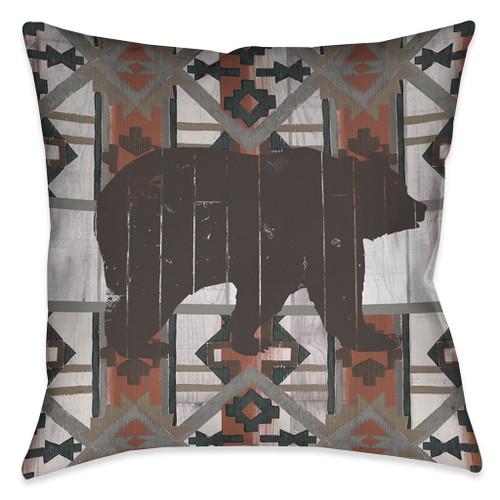 Tribal Wildlife Pillow