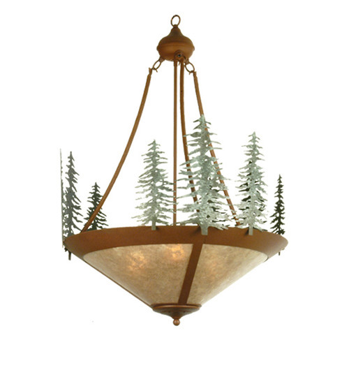 Trees Inverted Chandelier