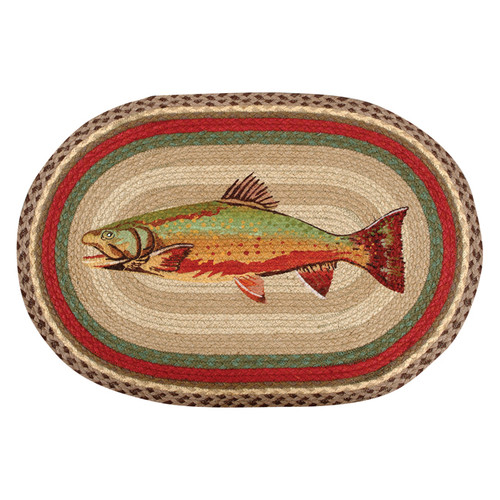 Trout Braided Rug