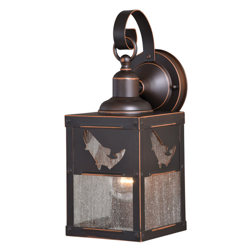 Trout Wall Sconce -Â Small - BACKORDERED UNTIL 1/11/2022