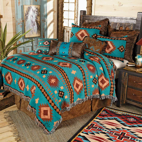 Tucson Sky Tapestry Coverlet - Queen