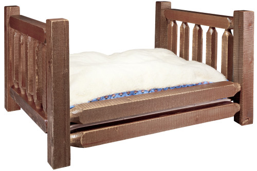 Homestead Large Dog Bed with Mattress