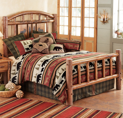 Moose Creek Log Bed - King
