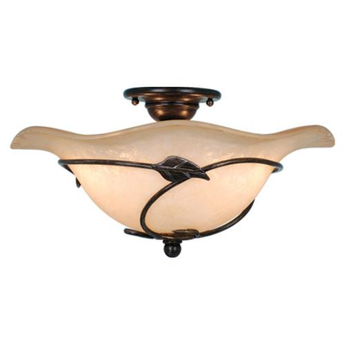 Vine Semi Flush Ceiling Light
