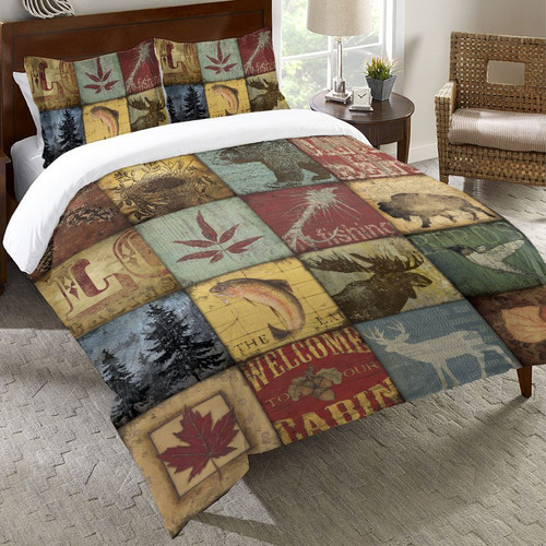 Cabin Lifestyle Duvet Cover - Twin