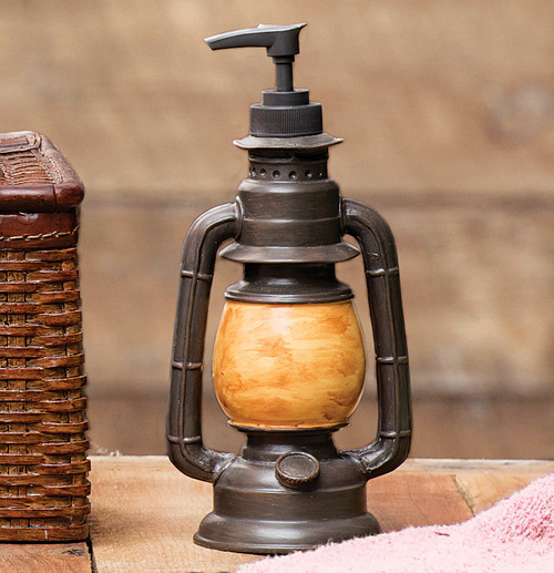 Vintage Camp Lantern Soap Dispenser