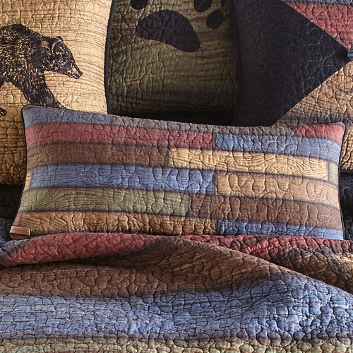 Vintage Woods Rectangle Pillow