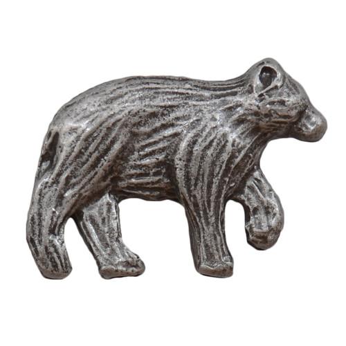 Walking Bear Cabinet Knob - Nose Facing Right