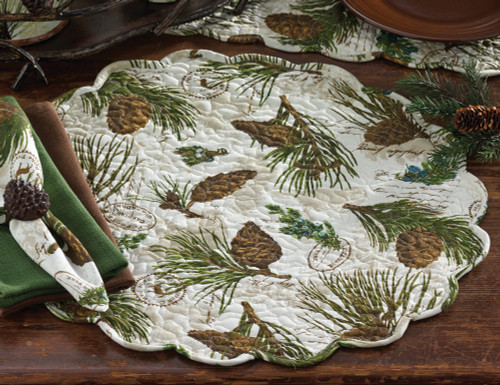 Walk in the Woods Round Placemat