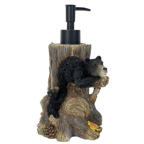 Warm Cozy Bear Soap Dispenser