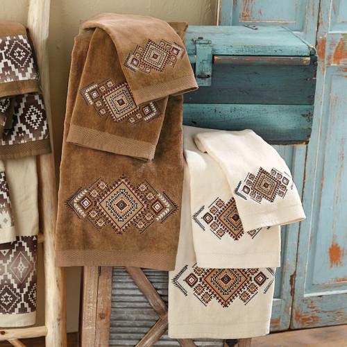 Diamond Mesa Towel Sets