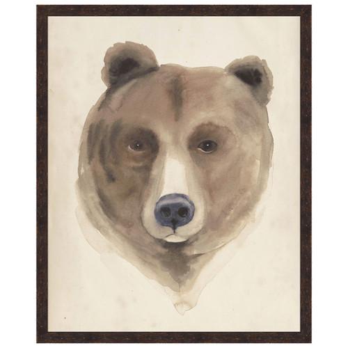 Watercolor Animal Study VI Framed Print