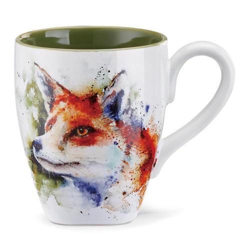 Watercolor Fox Mug