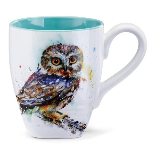 Watercolor Little Owl Mug