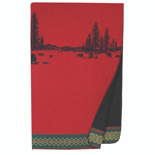 Wooded River Bear 5 Throw