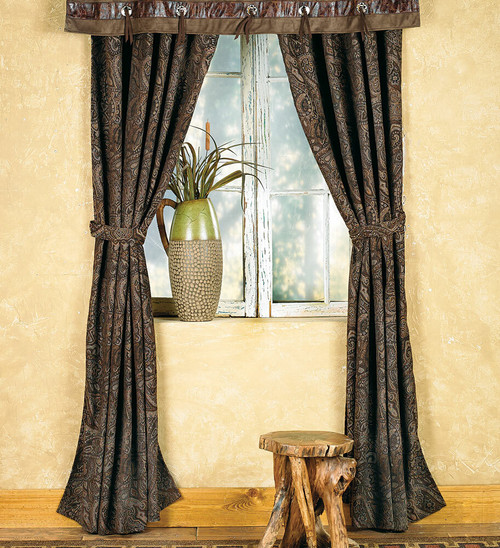 Western Paisley Beaumont Drapes