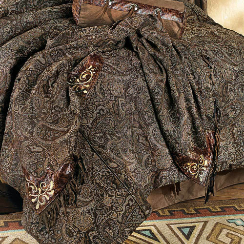 Western Paisley Beaumont Throw