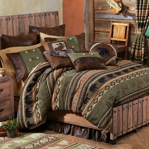 Timber Woods Moose & Bear Bedding Collection