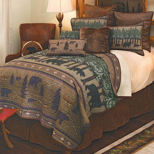 Bear Stories Quilt Bedding Collection