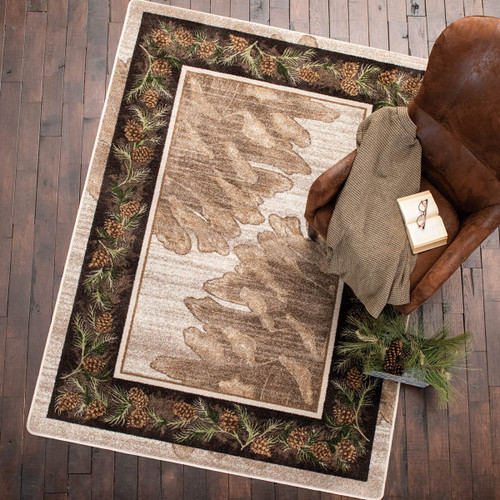 Whispering Pines Natural Rug - 8 Ft. Round