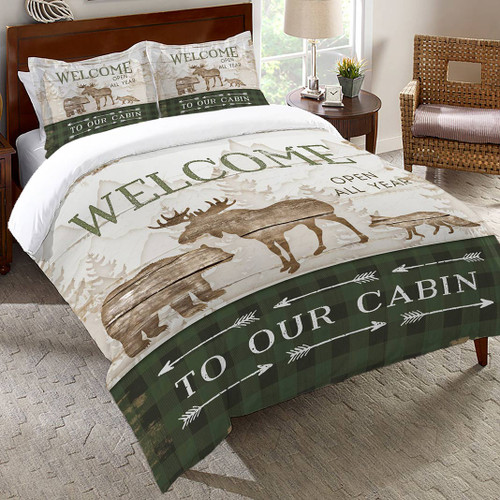 Whistling Cabin Comforter - Queen