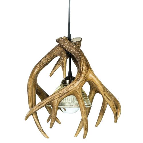 Whitetail Deer 3 Antler Pendant Light