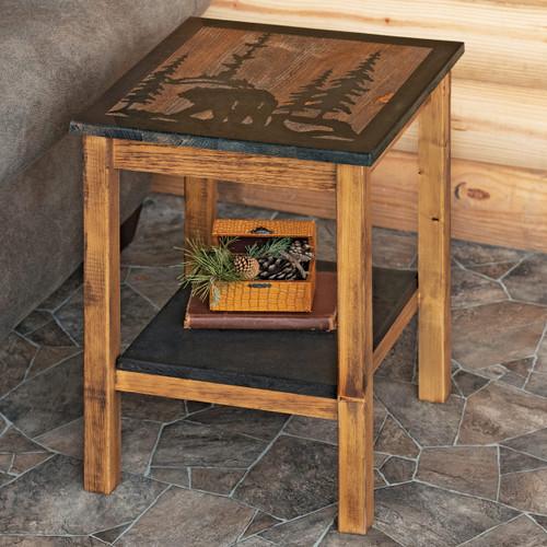 Wilderness Bear End Table