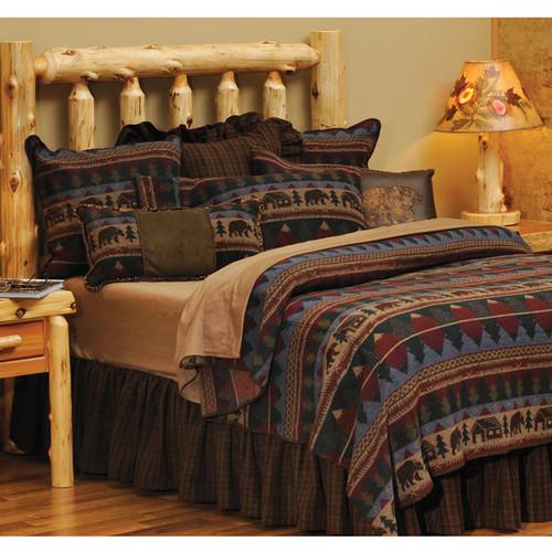 Cabin Bear Bedspreads