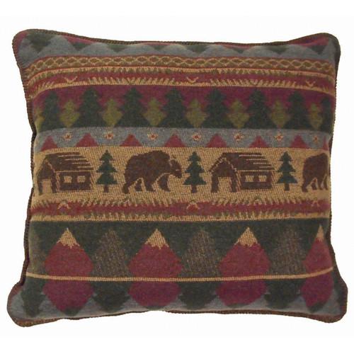 Cabin Bear Pillows & Shams