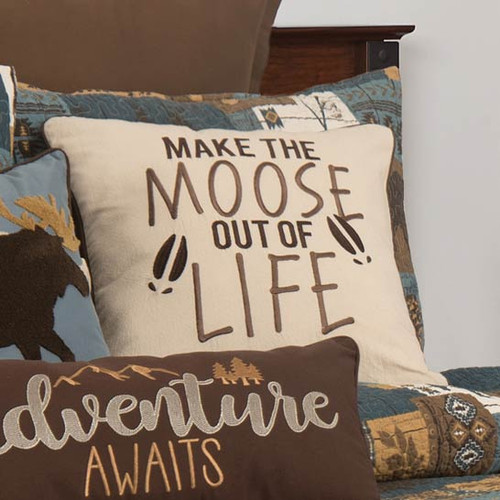 Wildlife Lakeside Trails Accent Pillow