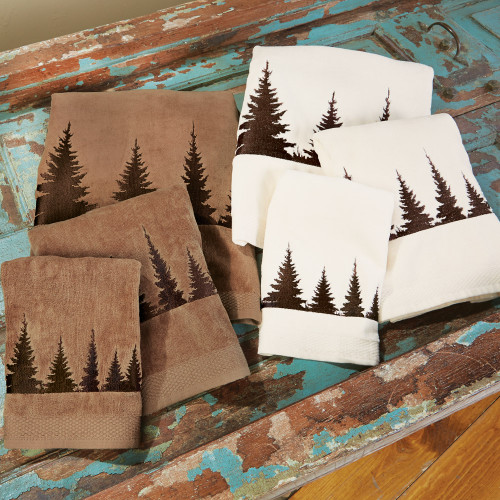 Pinewood Forest Towel Sets
