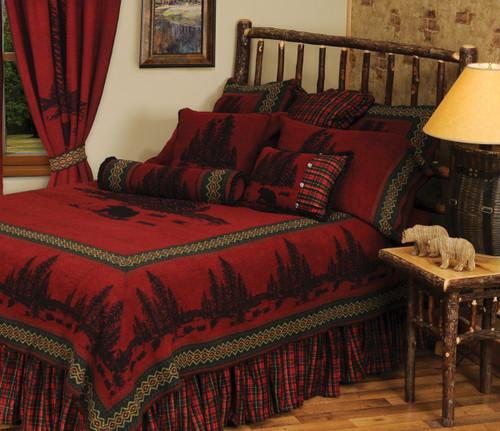 Wooded River Bear 5 Value Bed Set - Super King
