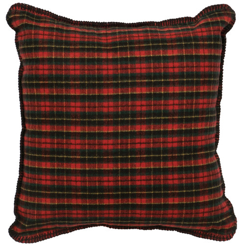 Wooded River Plaid 1 Pillow