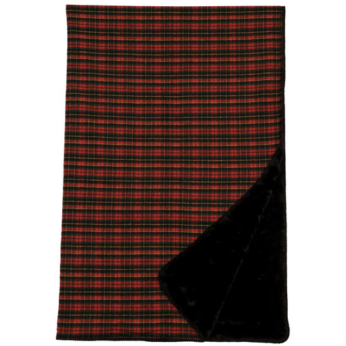 Wooded River Plaid 1 Throw