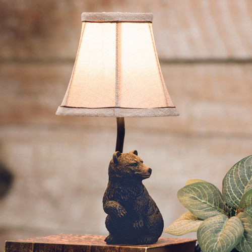 Woodland Bear Accent Lamp - OUT OF STOCK UNTIL 7/30/2021
