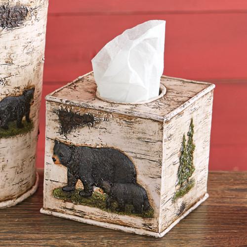 Woodland Bear Tissue Box
