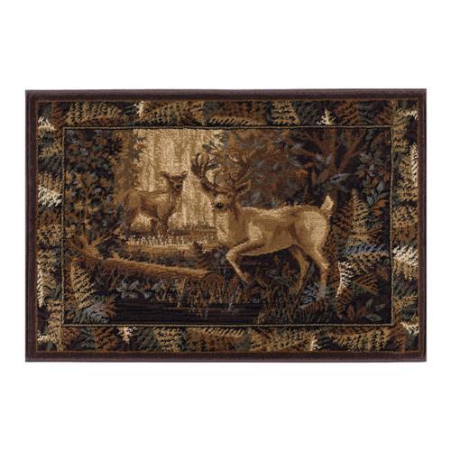 Woodland Deer Rug - 2 x 3