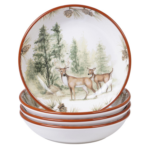 Woodland Friends Soup Bowls - Set of 4 - OUT OF STOCK UNTIL 8/19/2021