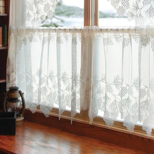 Woodland Lodge Lace Window Tier